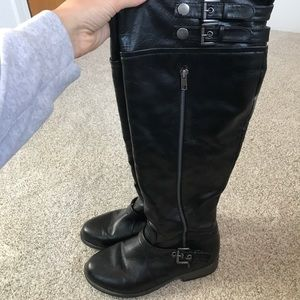 Knee-high Black Boots - Maurices